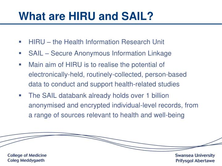 What are hiru and sail