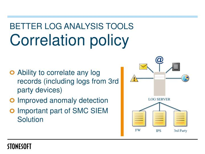 Better log analysis tools