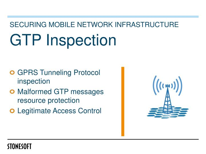 Securing mobile network infrastructure