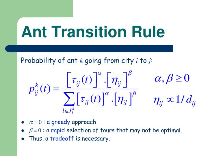Ant Transition Rule