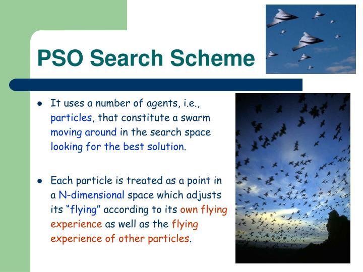PSO Search Scheme