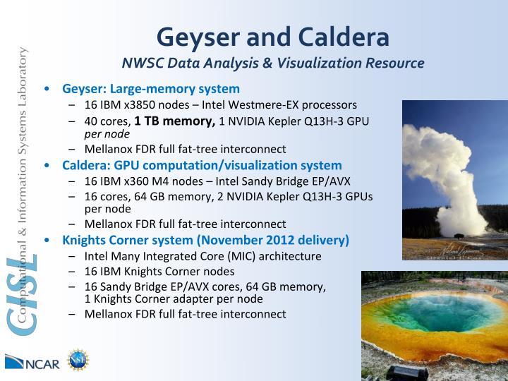 Geyser and Caldera
