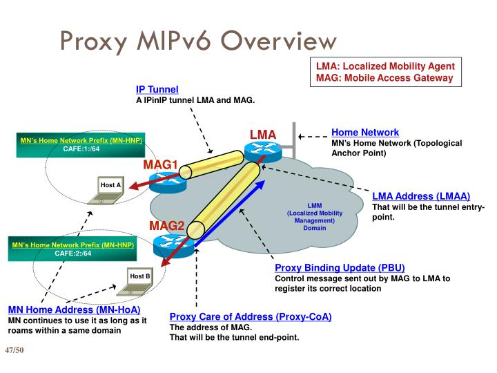 Proxy MIPv6 Overview