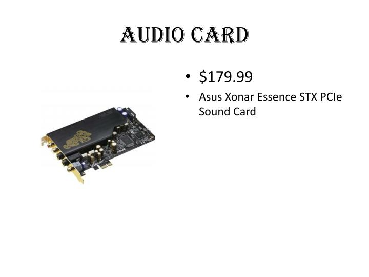 audio Card
