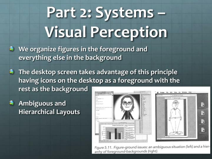 Part 2: Systems –