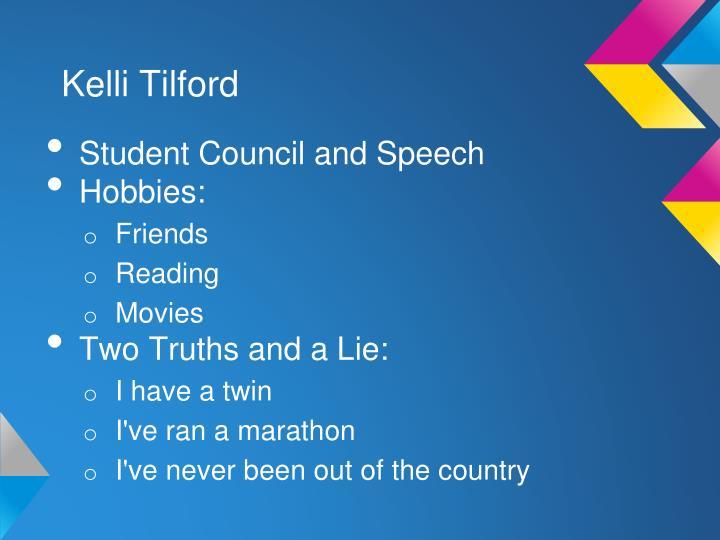 Kelli Tilford