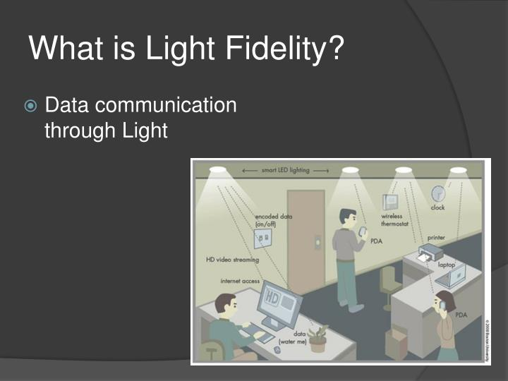 What is Light Fidelity?