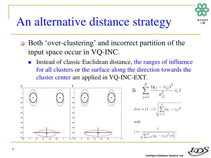 An alternative distance strategy