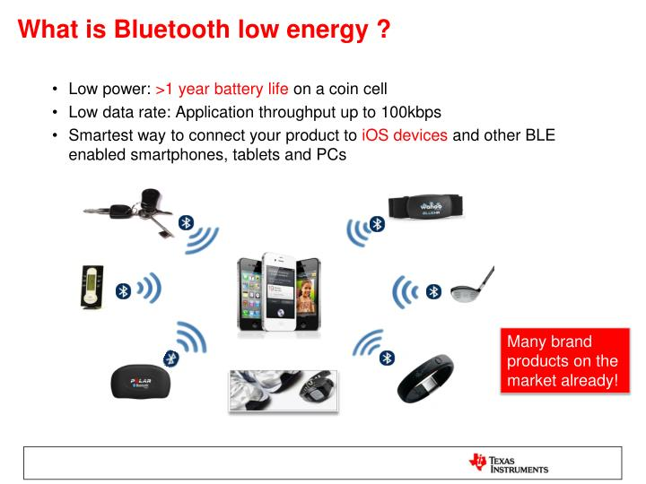 What is Bluetooth low energy ?