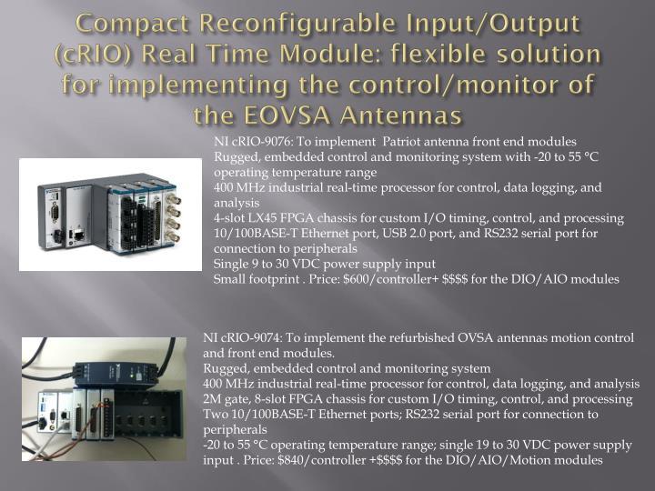 Compact Reconfigurable