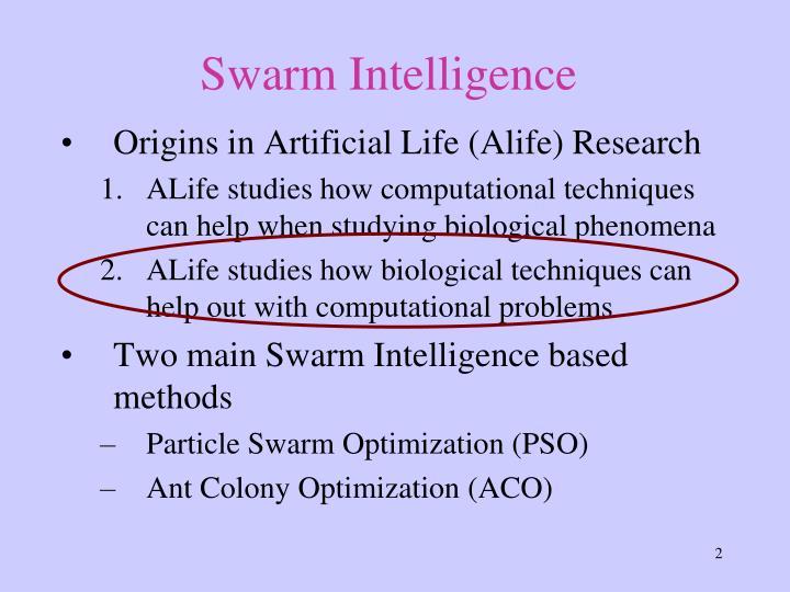 Swarm Intell