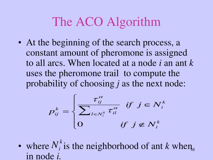 The ACO Algorithm