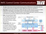 ratc control center communications