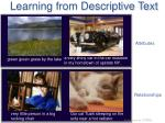 learning from descriptive text1