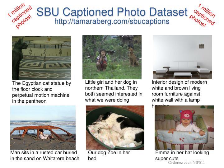 SBU Captioned Photo Dataset