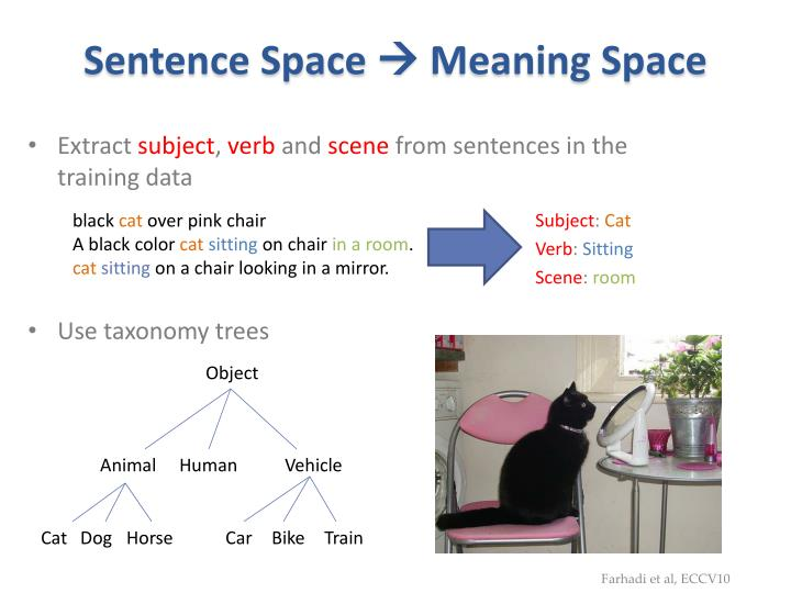 Sentence Space
