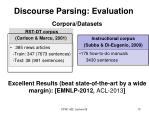 discourse parsing evaluation