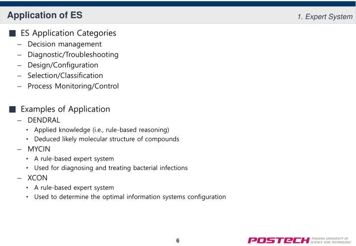 Application of ES