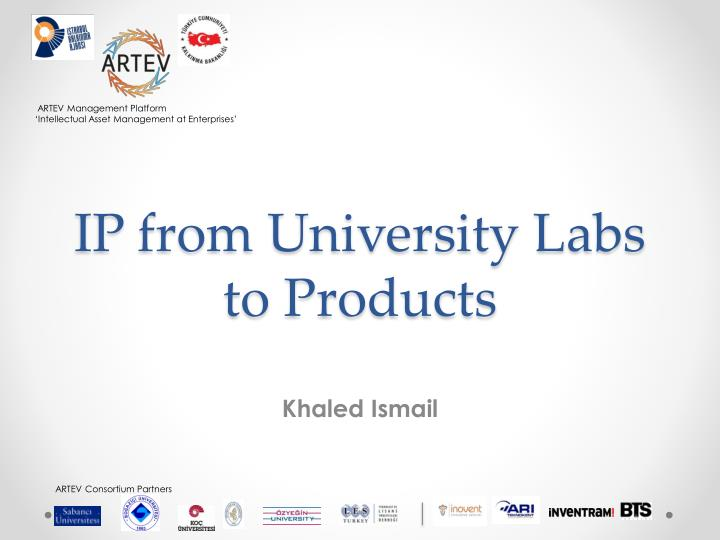IP from University Labs to Products