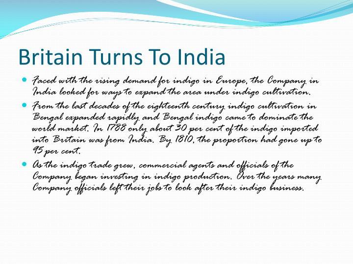 Britain Turns To India