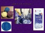 uses of indigo