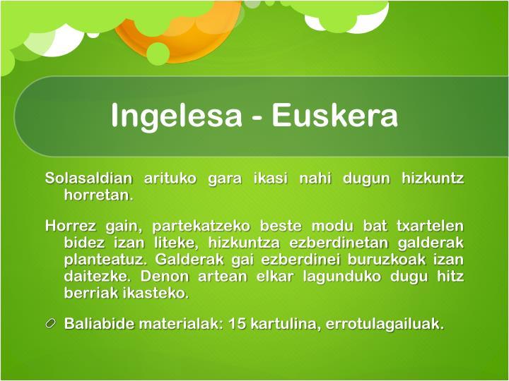 Ingelesa