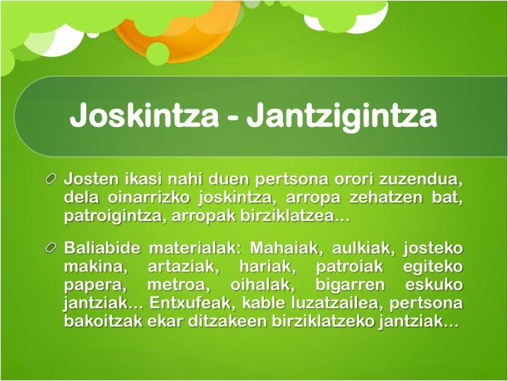 Joskintza