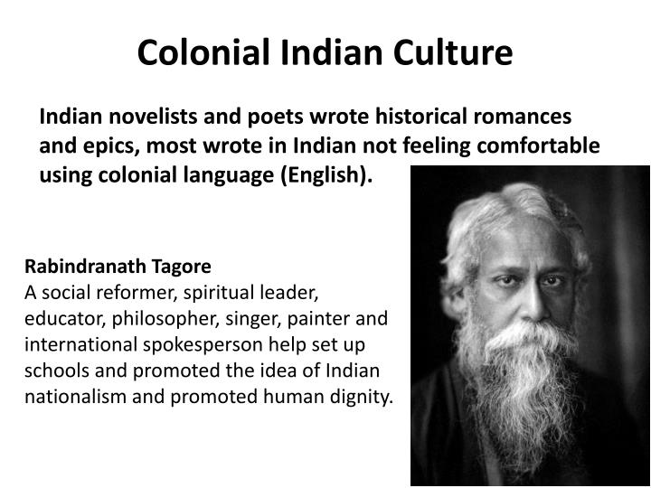 Colonial Indian Culture