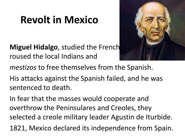 Revolt in Mexico