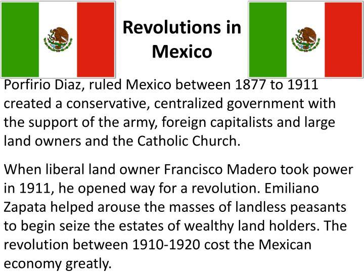 Revolutions in