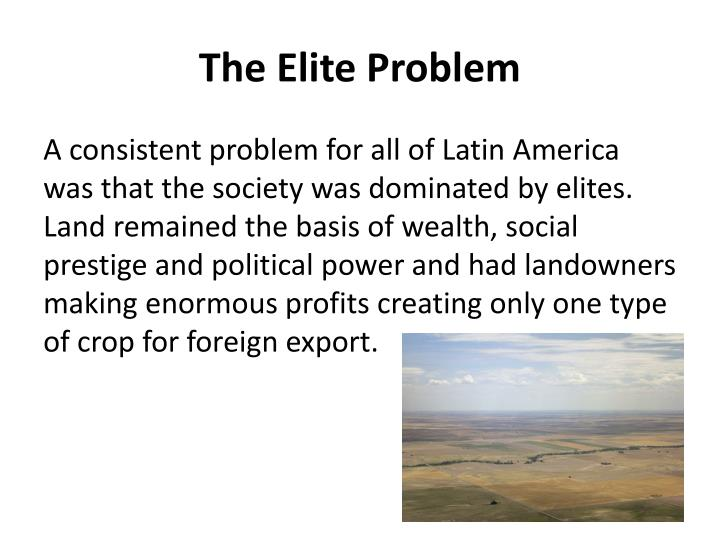 The Elite Problem