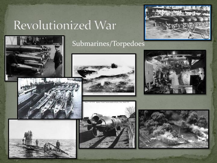 Revolutionized War
