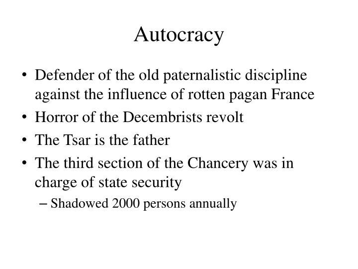 Autocracy