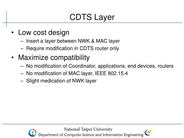 CDTS Layer