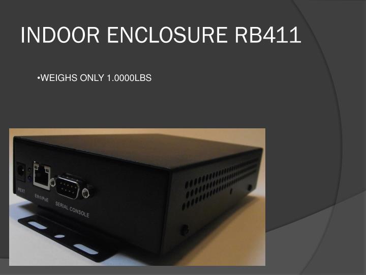 INDOOR ENCLOSURE RB411