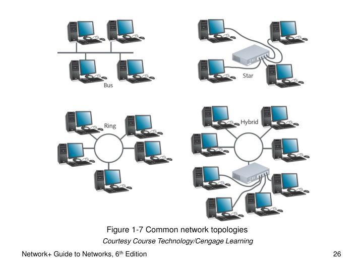 Figure 1-7 Common network topologies