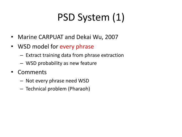 PSD System (1)
