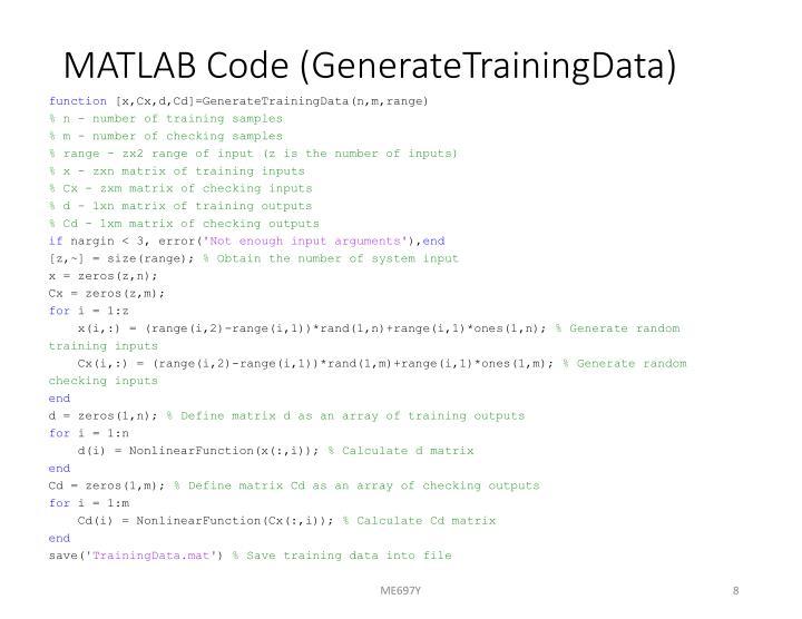 MATLAB Code (