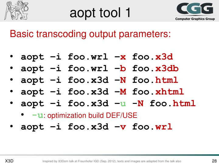 aopt tool 1