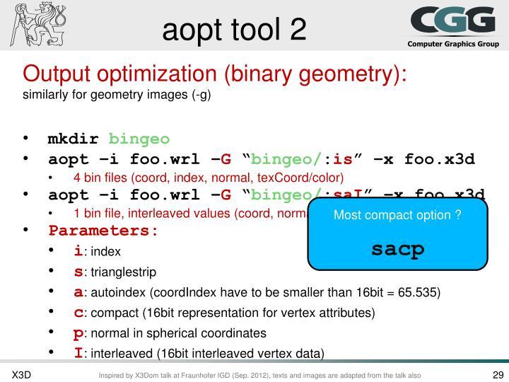 aopt tool 2