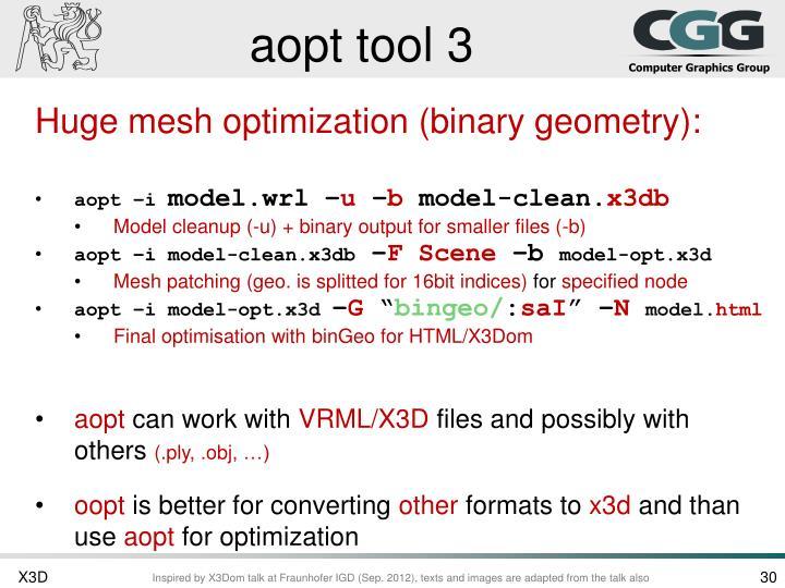 aopt tool 3