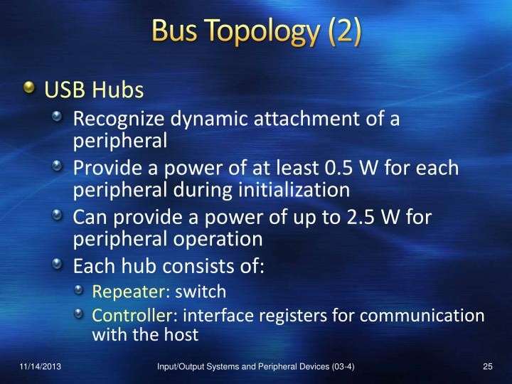 Bus Topology (2)