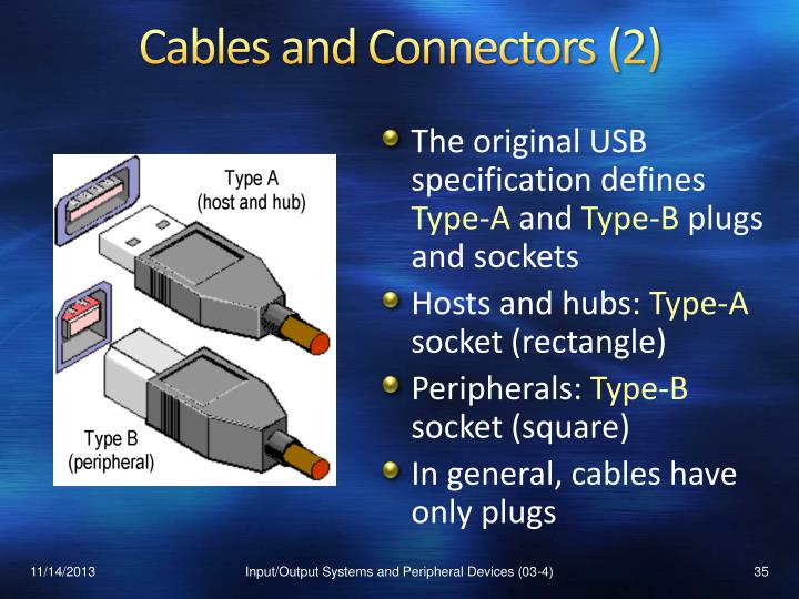Cables and Connectors (2)