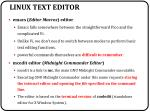 linux text editor1