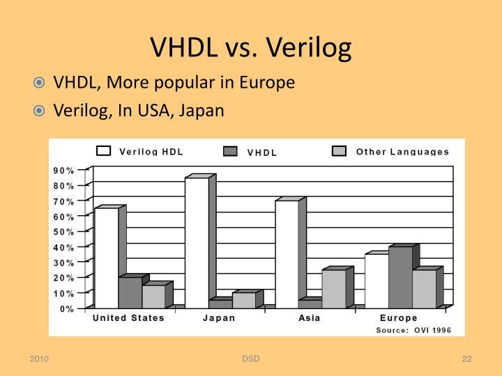 VHDL vs.