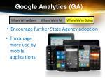 google analytics ga10