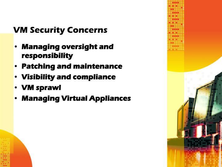VM Security Concerns
