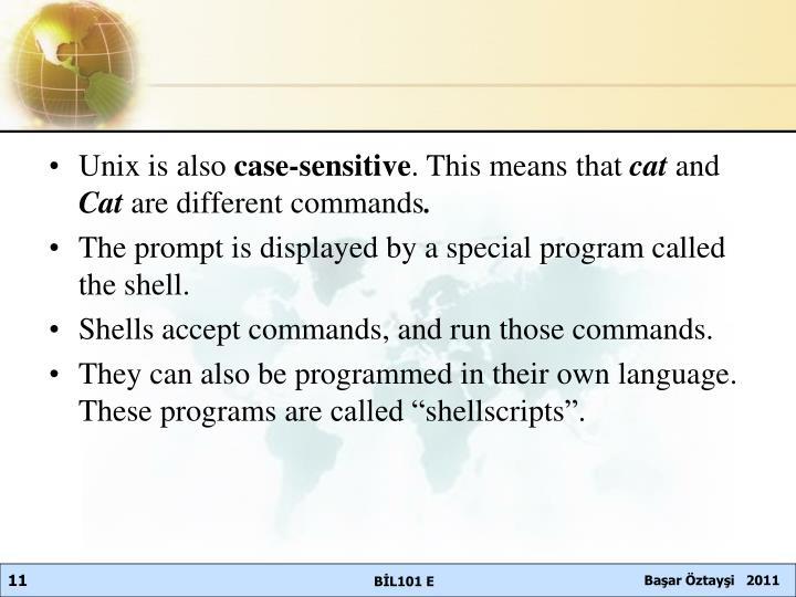 Unix is