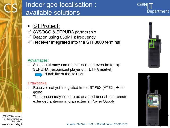 Indoor geo-