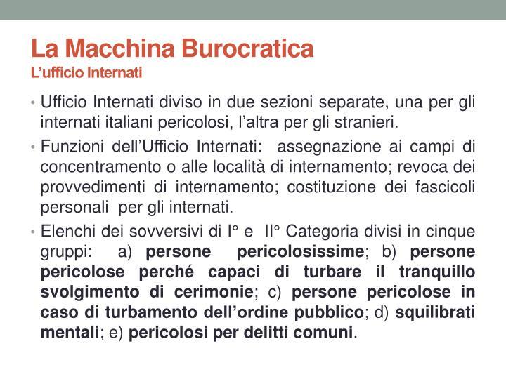 La Macchina Burocratica